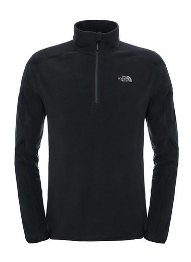 The North Face Glacier Delta Sweatshirt Siyah Siyah